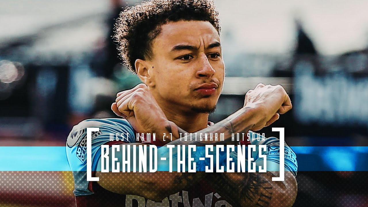BEHIND THE SCENES | LONDON IS CLARET AND BLUE
