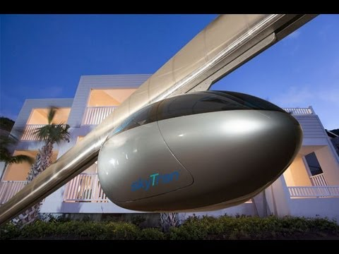 Aerial maglev podcar may be Tel Aviv's mass transit system of the future