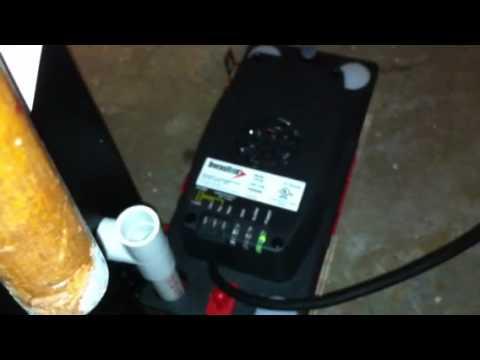 Diversitech CP-22 Condensate Pump, 120V installation