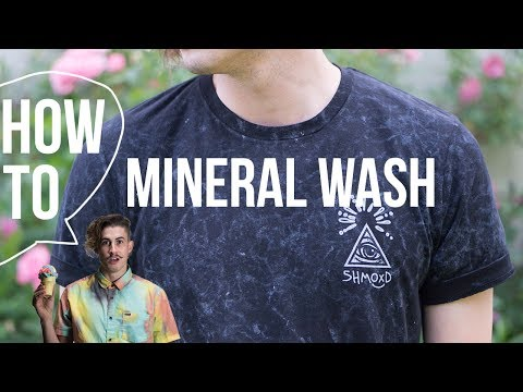 How to Mineral Wash Clothes
