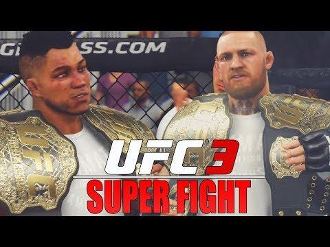 Super Fight Against Conor McGregor! True GOAT! EA Sports UFC 3 GOAT Career Mode Gameplay