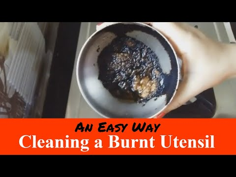 How To Clean a Burnt Pot | How To Remove Burnt Food From Pot
