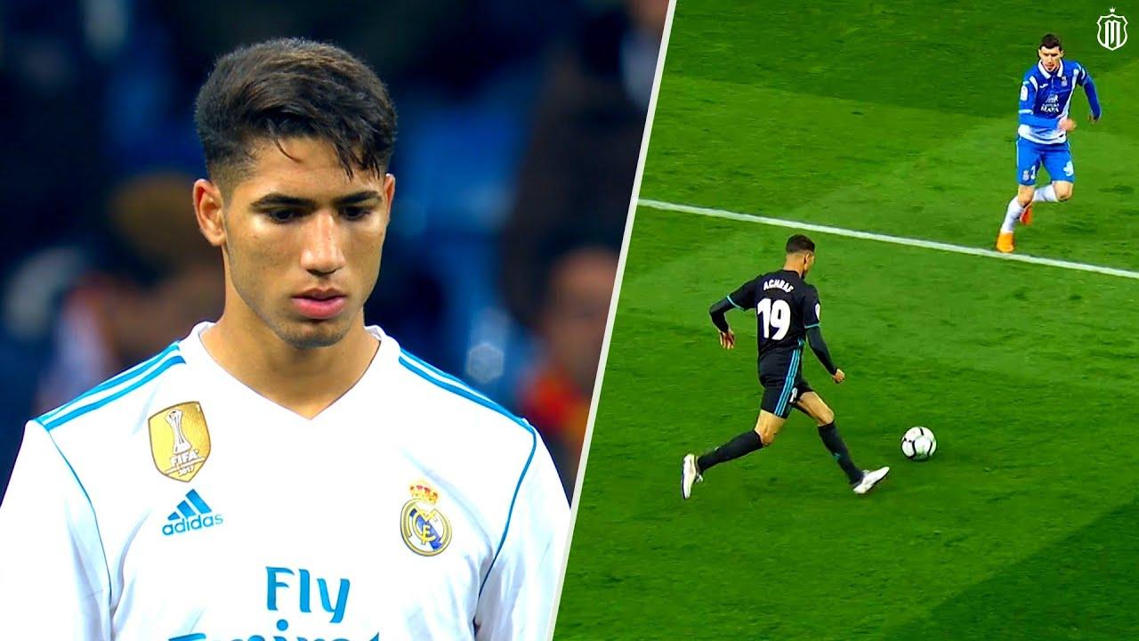 When Achraf Hakimi Played For Real Madrid