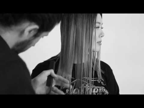 mod's hair Los Angeles | Textured lob and beach waves
