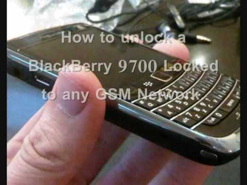 How to unlock a BlackBerry 9700 - MEP Unlock Code for BlackBerry 9700