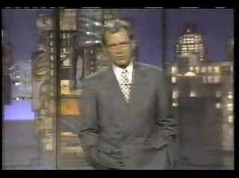 Me on Letterman