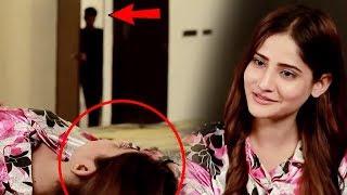Wahaj Ali Romance scene with Maid | Kinza Hashmi caughts Wahaj Ali doing Romance | Haqeeqat | Aplus