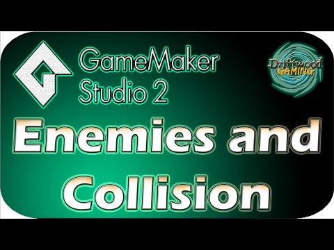 GMS 2 Tutorial - Enemies and Bullet Collision - GameMaker Studio 2 Tutorial