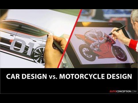 Car Design vs Motorcycle Design