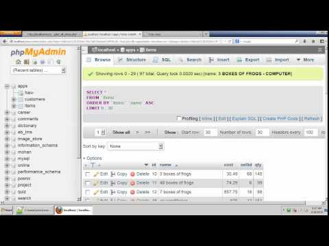 Fetching Data From Mysql Database By PHP Tamil Tutorial