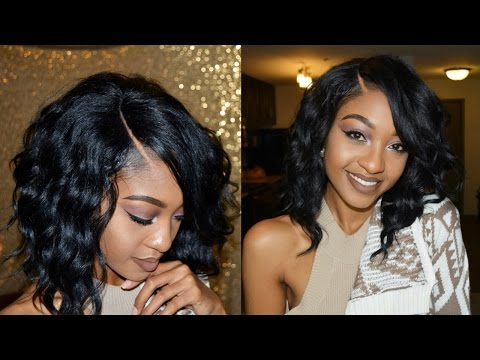 HOW TO: Make your wig look NATURAL under 5 ! | Disisreyrey