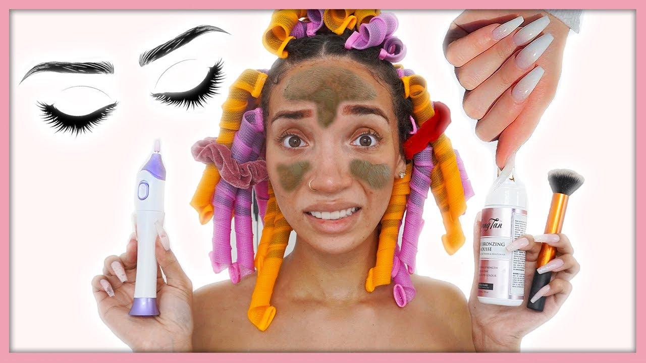 DIY Pamper Routine | Full Body Makeover