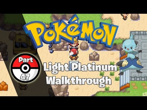 Pokemon Light Platinum Walkthrough 47: Rocky Road Ahead!