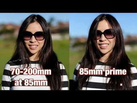 Best Portrait lens? 85mm vs 70-200mm
