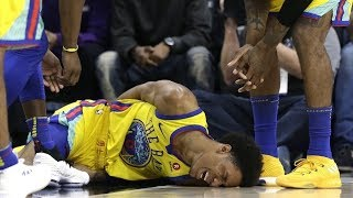 The WORST NBA Injuries 2017-2018 (GOOSEBUMPS WARNING)