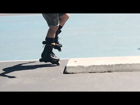 RIDICULOUS INLINE FLATLAND TRICKS!!