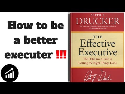 The Effective Executive by  Peter F Drucker