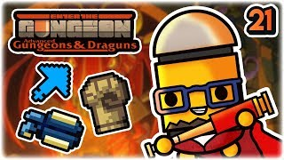 Double Double Helix Synergy | Part 21 | Let's Play: Enter the Gungeon Advanced Gungeons and Draguns
