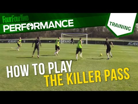 How to play the killer pass | Soccer drill | Tactics | Nike Academy