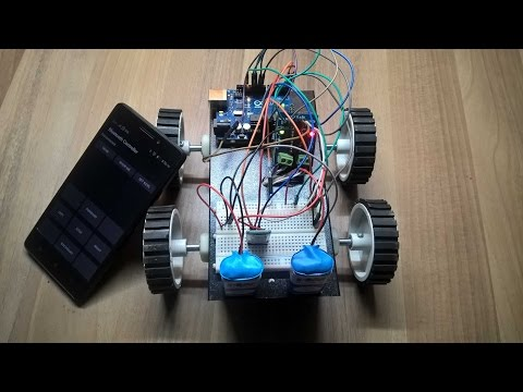 How to make a Bluetooth Controlled Robot using Arduino (With Code)