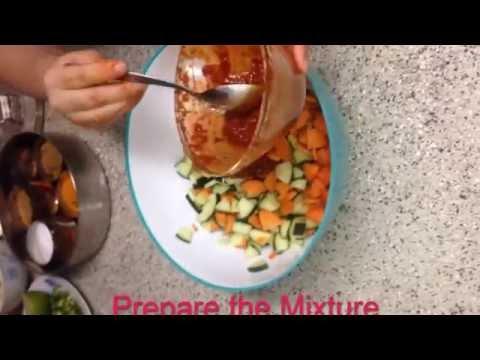 How to make Tusi (Cucumber) Achar
