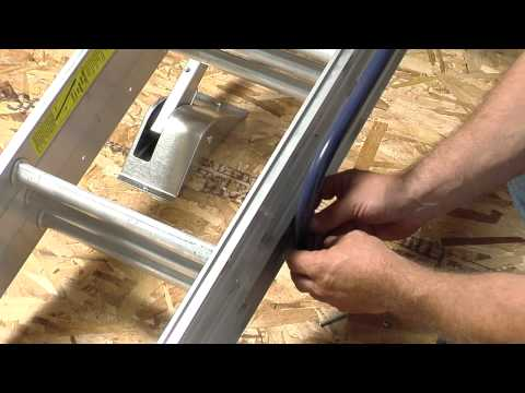 Werner Compact Attic Ladder - Long Installation Video