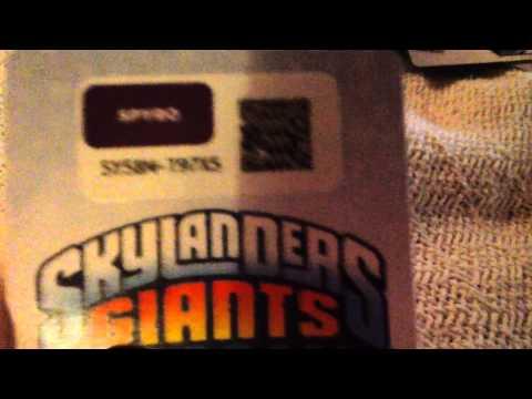 Skylanders lost islands and skylanders cloud patrol codes
