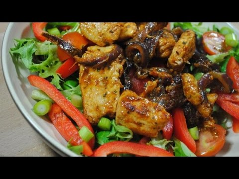 ULTIMATE SIMPLE CHICKEN SALAD - Student Recipe
