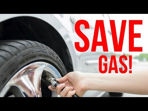 HOW TO SAVE GAS FOR FREE! - Dodge Charger Gas Mileage vs. Tire Pressure Test