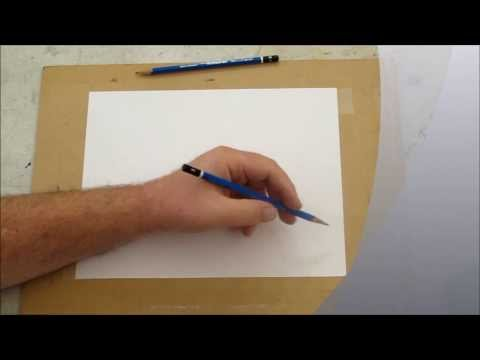 Free Drawing Video:How to Draw Staighter Lines:Warm Up