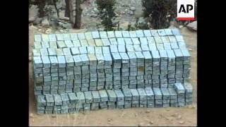 Anti-Taliban troops continue to investigate Tora Bora caves