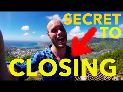 Secret to Closing - How to Close Sales in B2B Through Persistent Follow-Up
