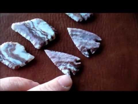 Cutting Flint Slabs for Knapping