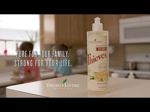 Thieves® Dish Soap from Young Living