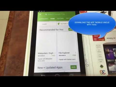 How to fix or Change Null IMEI on Android TABLET