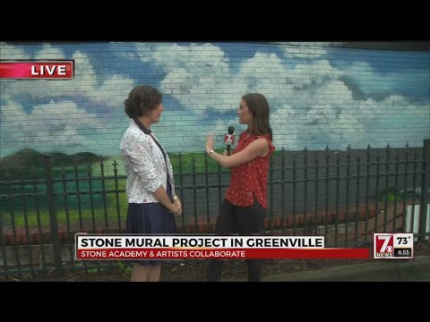 Stone Mural Project Adds More Art to Greenville