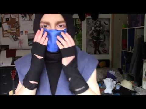 How to make a makeshift Sub Zero cosplay