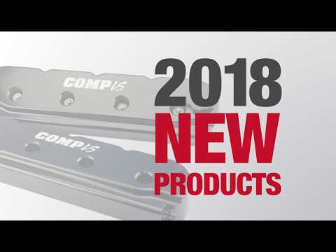 2018 NEW Product: COMP Cams Billet Valve Covers for GM LS Engines