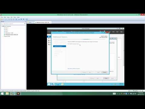 Installing Active Directory Domain Services on Windows Server 2012 R2
