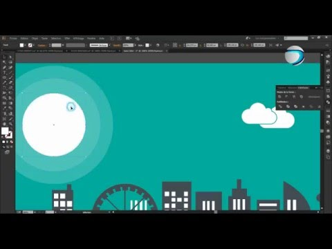 Adobe Illustrator :Create  Facebook cover-timeline image Full HD for your page!