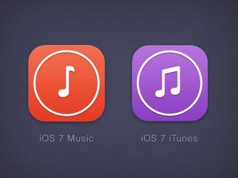 iTunes 11.1 & iOS 7