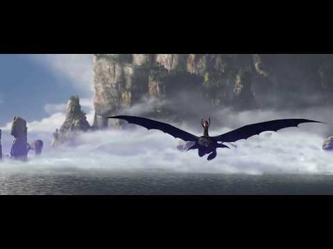 First flight on Toothless (How to Train Your Dragon) HD