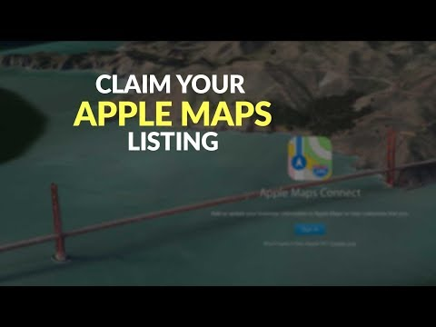 How to Claim Your Apple Maps Listing