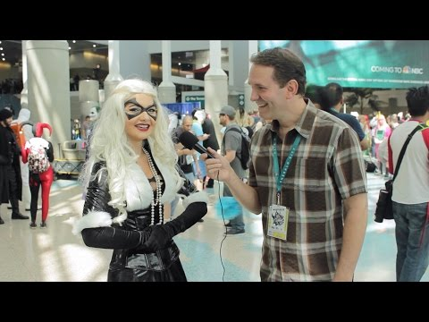 MORE Awkward Interviews with Cosplay Girls at WonderCon 2016
