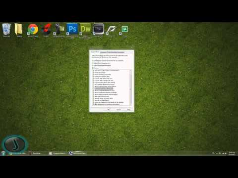Windows 7: How to remove shadows (from windows, mouse pointer and icons)