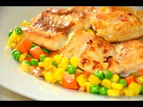 Sutchi Fillet (Fish with Vegetables Recipe)