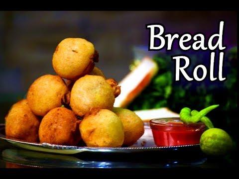 Bread Roll Recipe in Hindi | Quick Cheese Bread Roll Recipe | How to make Indian Bread Roll