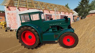 Old farm and old Green Tractors 🚜 Awesome Tractor Sound  - Animal Breeder Simulation | LS19