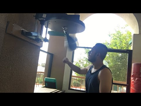 Speed bag magic. Watch and learn