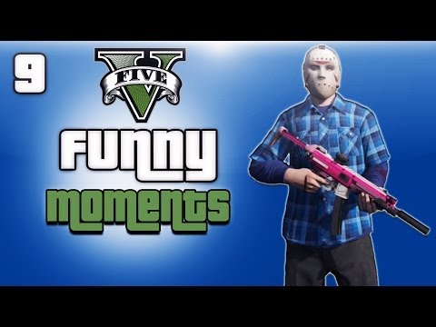 GTA 5 Online Funny Moments Ep. 9 (Corpse Launch Glitch, Invisible Car, Cargobob Fun)